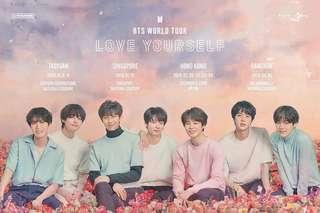 [ L SLOTS FILLED ] BTS Love Yourself World Tour Tickets