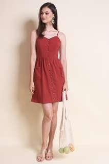 🚚 BNWT Neonmello KYRA A-LINE BUTTONED SLIP DRESS