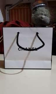Authentic Chanel Small Paperbag