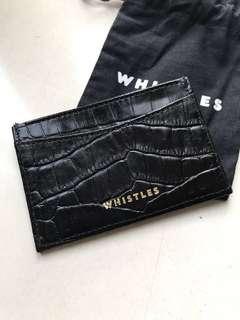 whistles card holder 卡片套