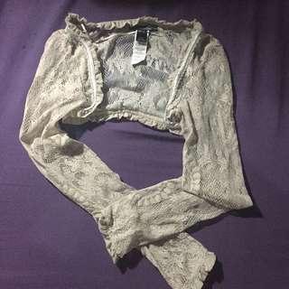 Lace Suit Cover Up