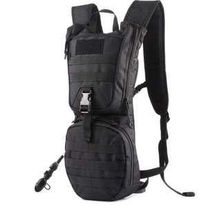 🚚 Tactical Hydration Backpack With 2.5L Water Bladder