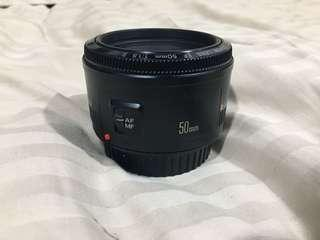 Canon 50mm 1.8 Made in Japan