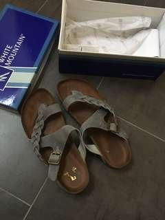 Size 11 women's imitation birkinstock sandals