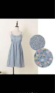 BN Spag summer dress floral print sling