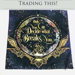 [Trade Only] A Court of Thorns and Roses FairyLoot Exclusive Pillowcase