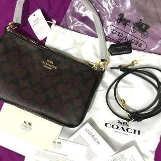 Mini Sling Bag Clutch by Coach