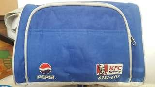Pepsi/kFC bag
