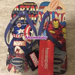 🔥現貨🔥 巴西品牌 Havaianas x Captain America x Iron Man 拖鞋
