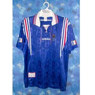 CL0371 Jersi Adidas France Perancis 1996 35a2d258c