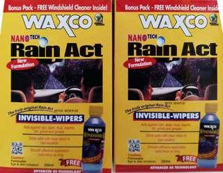 Nanotech Rain Act Invisible Wipers