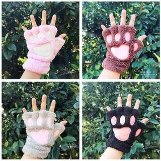 Cat Paw Hand Gloves