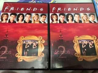 美劇 FRIENDS Season 2 Episode 1-16 DVD