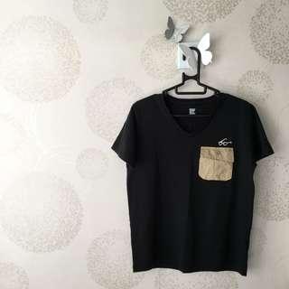 購自日本 Design Tshirts Store graniph pocket tee