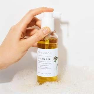 [READY STOCK] CLEAN BEE ultra gentle facial cleanser Farmacy