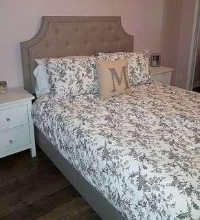 Queen Fabric Bedframe