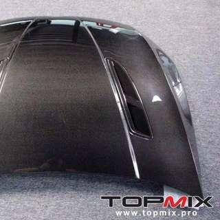 Mega yearend shipment from Topmix. Golf Mk7 vented carbon hood. Only 1 piece coming. Book now!