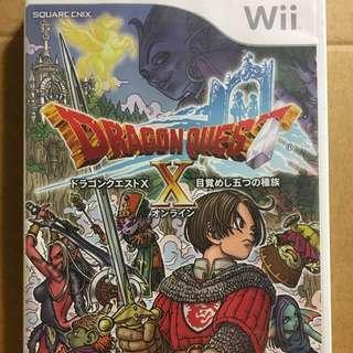 🚚 Wii 勇者鬥惡龍10