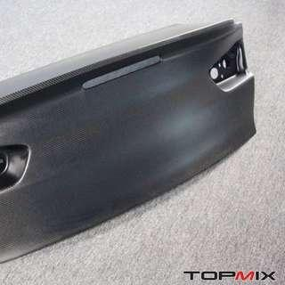 Mega yearend shipment. Lancer Ex. Evo X carbon boot with ducklip from topmix. Fitment and quality guaranteed.