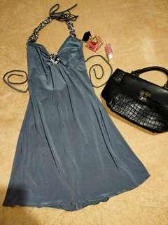 Gray backless dress ❤❤❤