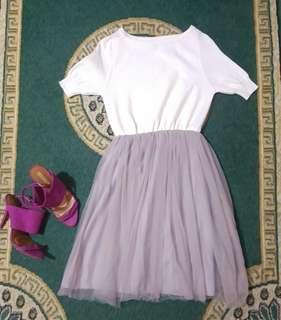 ZARA shoes with Tutu dress