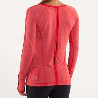 Lululemon Team Spirit long sleeve, size 4