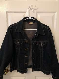 Levis oversized denim jacket