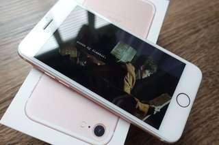 iPhone 7 128g 玫瑰金 九五成新