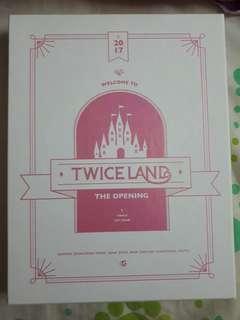 TWICE TWICELAND OPENING DVD
