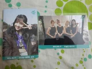 TWICE BROADCAST CARD