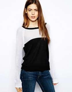 Rag & Bone raglan sweater, size XXS