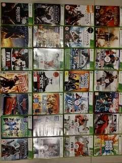 XBOX 360 Assorted Games
