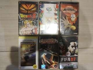 PSP Games Cartridge