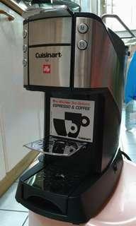 🚚 Cuisinart膠囊咖啡機(illy膠囊專用機)