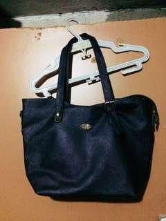 Black shoulder bag secosana