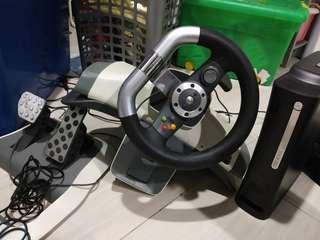 XBOX 360 Steering & Pedal