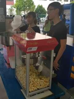Popcorn & Candy Floss Live Station