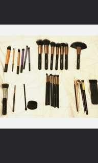 Makeup Brushes bundle sale ovonni nars real techniques loreal  sigma f80
