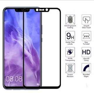Huawei Nova 3i Tempered Glass full coverage Screen Protector