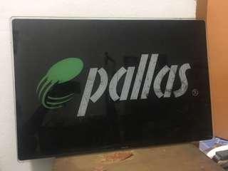 Signboard kasut pallas