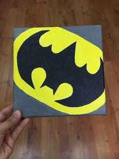Acrylic on Canvas Painting - Batman