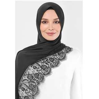 Ramadhan Duck Satin Silk Lace