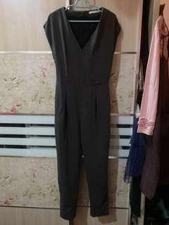 Jumpsuit grey formal