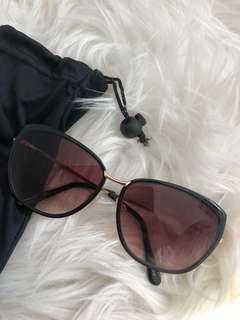 Portman's Rose Gold Sunglasses