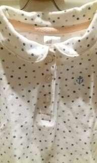 H&M baby girl polo shirt