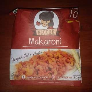 Makaroni Ngocor Pedas Level 10