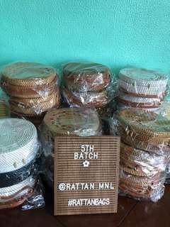 On hand Rattan Bags 🌼 Free shipping within Metro Manila 🛵