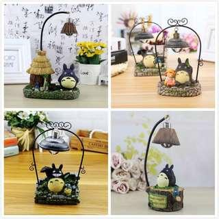 totoro night lamp and display toy