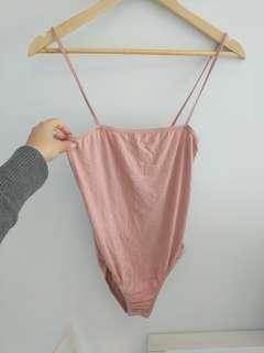 Missguided Nude Bodysuit size 6/8