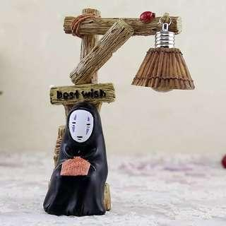 No Face Man night lamp and display toy, Creative and ideal gift
